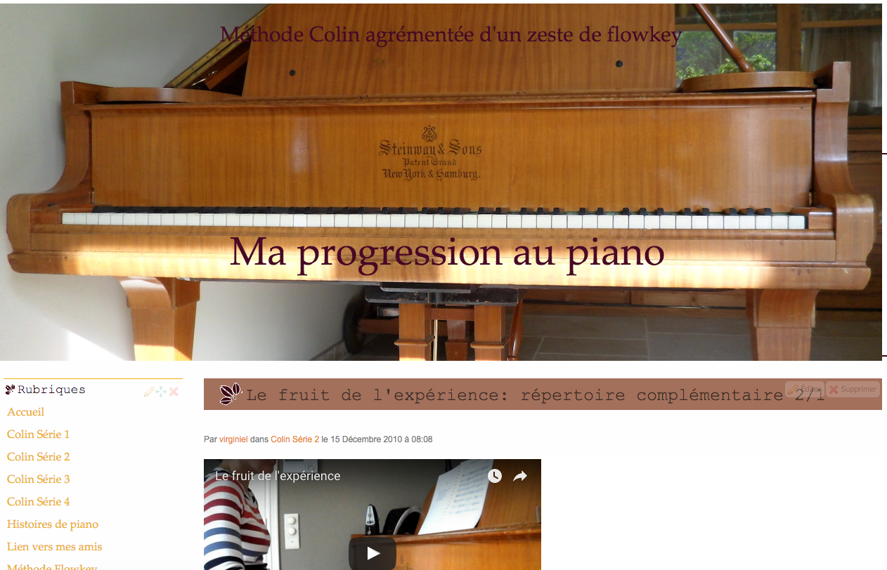 Eklablog Beta blog Virginie piano