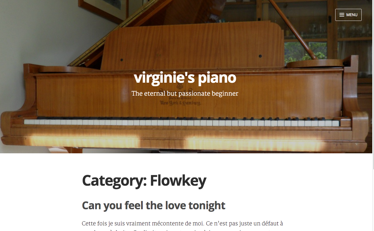 wordpress cloud beta blog Virginie piano