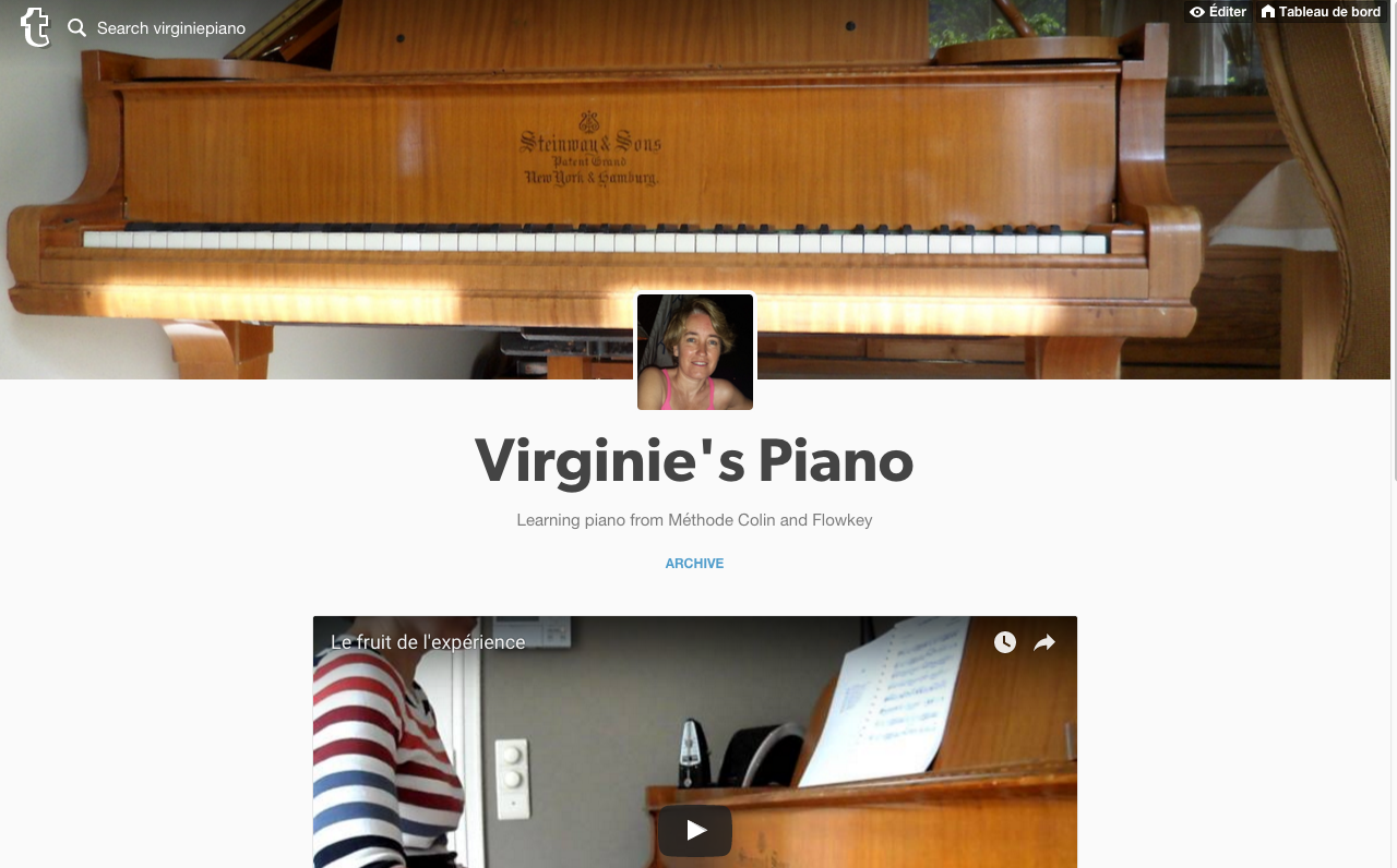 tumblr.com beta blog Virginie piano
